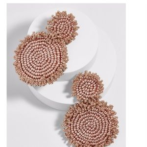 BaubleBar RIANNE DROP EARRINGS-ROSE GOLD